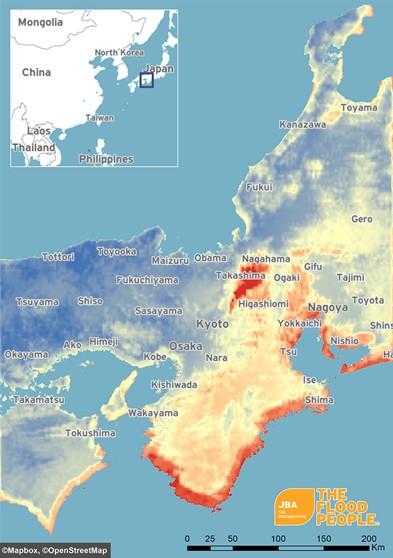 Typhoon Jebi Flood Report | JBA Risk Management