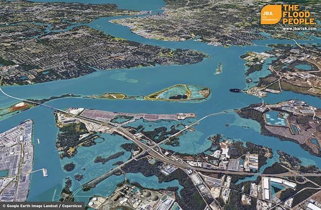 Florida Flood Map.5m Florida Flood Maps Jba Risk Management