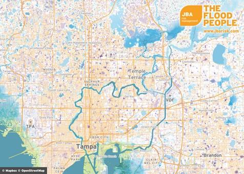 Florida Flood Map.Jba And Spatialkey Collaborate On Florida Flood Maps Jba Risk