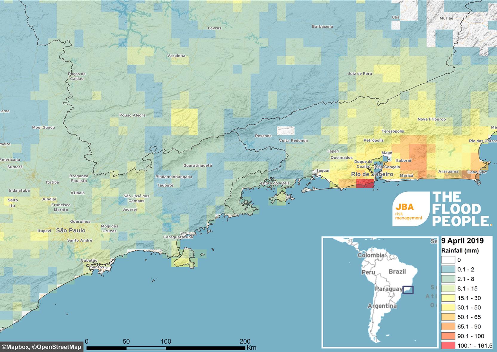 Flooding In Rio De Janeiro Jba Risk Management