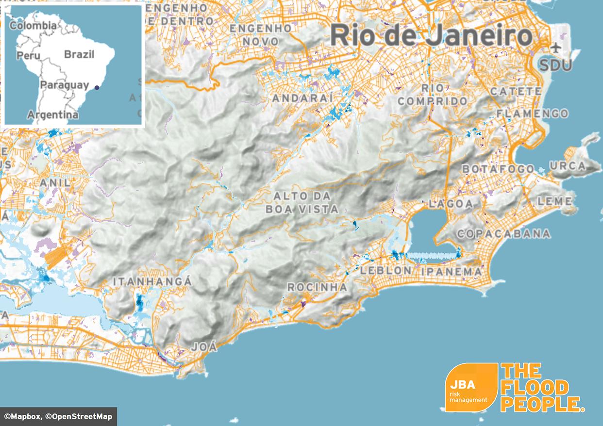 Flooding in Rio de Janeiro | JBA Risk Management